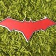 Download 3D printer designs RED HOOD EMBLEM (LOGO) , jediSam