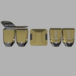 cults1.jpg Télécharger fichier STL CEINTURE DE SERVICE DE LA VILLE DE BATMAN ARKHAM • Plan à imprimer en 3D, jediSam