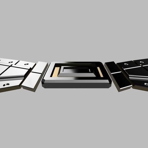 belt7.jpg Télécharger fichier STL CEINTURE DE RENAISSANCE BATMAN • Design à imprimer en 3D, jediSam