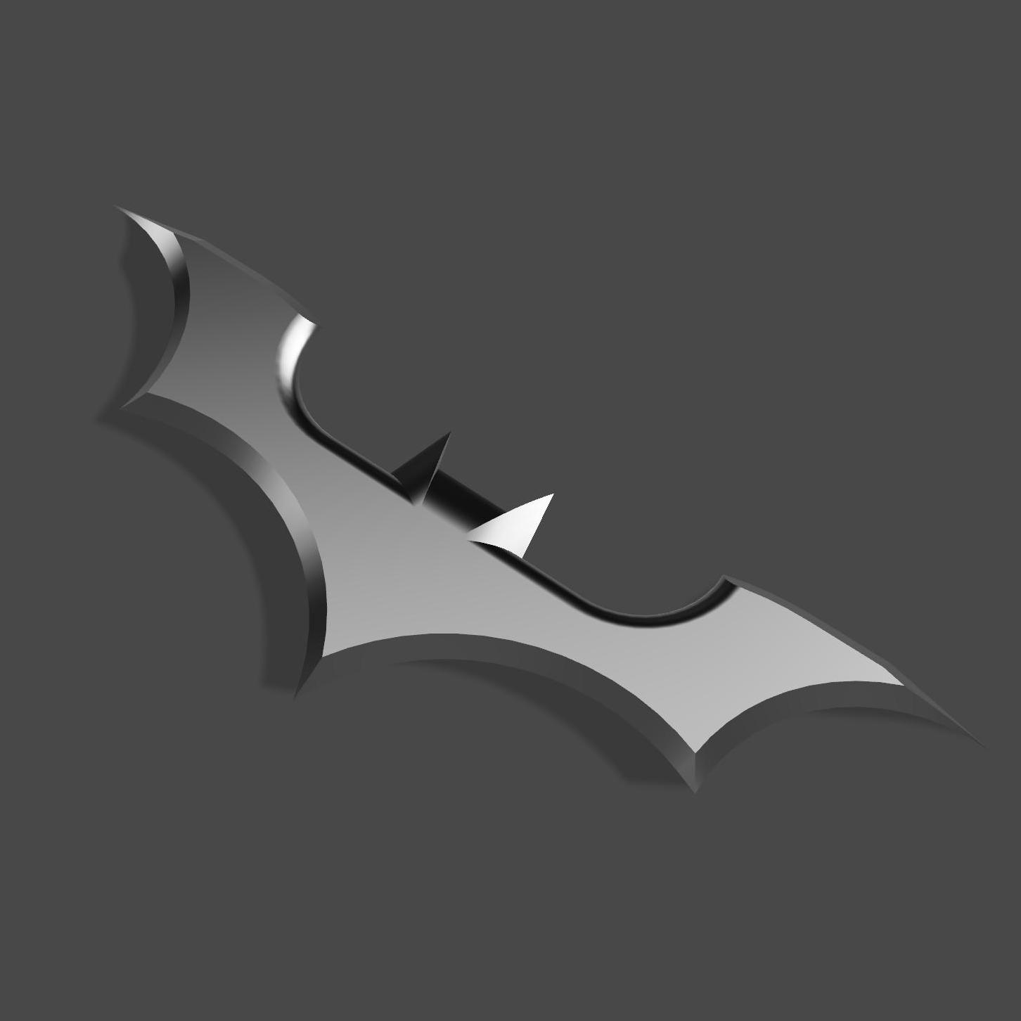 b3.jpg Download free STL file BATARANG v1.0 • Design to 3D print, jediSam