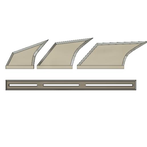 2019-09-08_02-12-47.png Télécharger fichier STL NAGEOIRES DE BATMAN (LAMES) • Objet pour impression 3D, jediSam