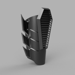 "gauntlet rebirth v26.png Download STL file BATMAN GAUNTLETS ""NEW 52"" • 3D printer template, jediSam"
