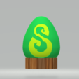 Download free STL file Dofus emerald Dual extrusion • 3D printable object, Wanick