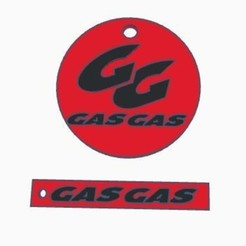 3d printer designs MX Gas Gas Keychain, dakarlcts