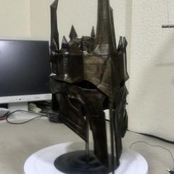 Download free STL files Sauron Armor - Helmet, cloko