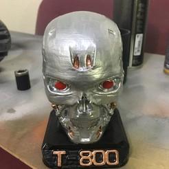 Download free 3D print files terminator T-800, cloko