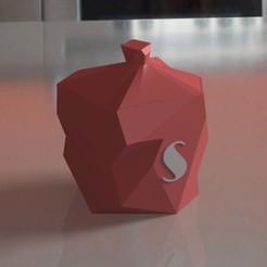 render salero.jpg Télécharger fichier STL Sel • Design pour impression 3D, PRINTTHINKS