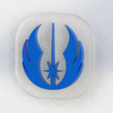 jedi token.png Download free STL file Jedi token • 3D printing object, pacoag