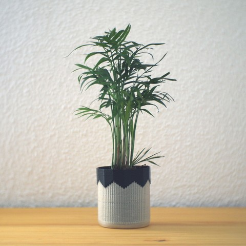 Download free STL Composite planter, Tokytome