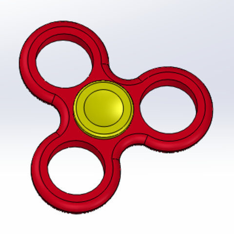 Download free STL file Hand Spinner • 3D printer design, Tytyplay