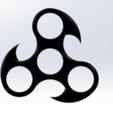 Free 3d printer model Hand spinner, RomainMarcheron