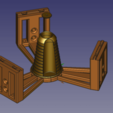 Model_608.png Download free STL file Anycubic Kossel Plus Top Internal Spool holder - Fixed • 3D print object, TsunamiSoul
