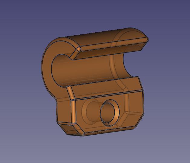 V2.png Download free STL file Arm Vibration Damper ø5mm for Anycubic Kossel • Object to 3D print, TsunamiSoul