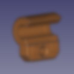 Clip_muelle_V2.stl Download free STL file Arm Vibration Damper ø5mm for Anycubic Kossel • Object to 3D print, TsunamiSoul