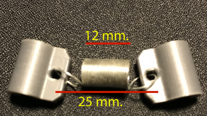 Spring.png Download free STL file Arm Vibration Damper ø5mm for Anycubic Kossel • Object to 3D print, TsunamiSoul