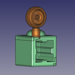 Download free STL file Filament guide Kossel Anycubic 2020 • 3D print design, TsunamiSoul
