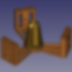 Arandela_superior_608_model_only.stl Download free STL file Anycubic Kossel Plus Top Internal Spool holder - Fixed • 3D print object, TsunamiSoul