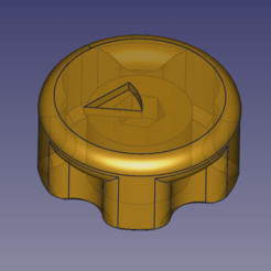 "V3.png Download free STL file Anycubic Delta tower ""big"" screw head regulator • 3D printing model, TsunamiSoul"