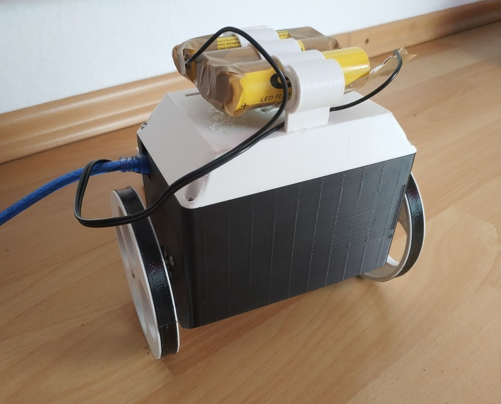 cee11c7125be0a22222c19a830019617_display_large.jpg Download free STL file JM Self Balancing Robot V1 • 3D printer model, JMDesign