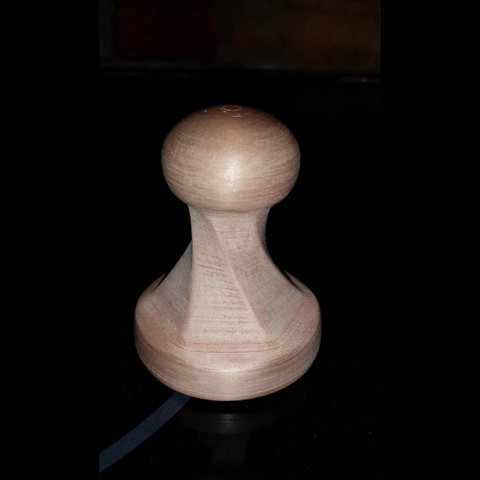 Capture d'écran 2017-05-12 à 10.46.26.png Download free STL file Twisted coffee tamper • Design to 3D print, Pratrik