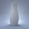 Free 3D printer model Wave vase, Pratrik