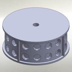 """Download STL file LEGO 2 x 4"""" LEGO Punch Castor • 3D printable design, ExrenRC"""