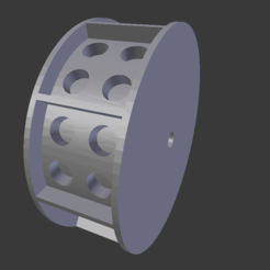 3D print model LEGO coin-operated castor, ExrenRC