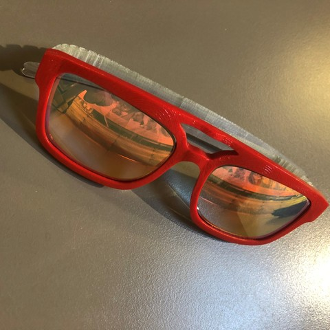 Télécharger fichier 3D Lunettes, Montures, lunettes de soleil, sunglasses, frame, Fram3D, Syl20Fram3d