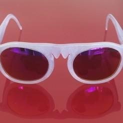 Download free 3D printing designs Fram3d Frames Glasses frames, Syl20Fram3d