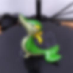 Download free STL file pokemon 495 Snivy 495 • 3D printable object, orangeteacher