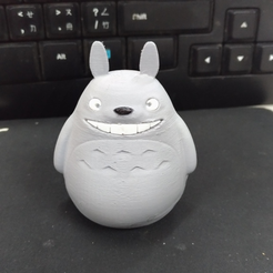Download free 3D printer templates Totoro assembly part by orangeteacher, orangeteacher