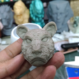 Free 3D printer files Lion head, orangeteacher