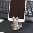 Free STL files One Piece snail phone stand, orangeteacher
