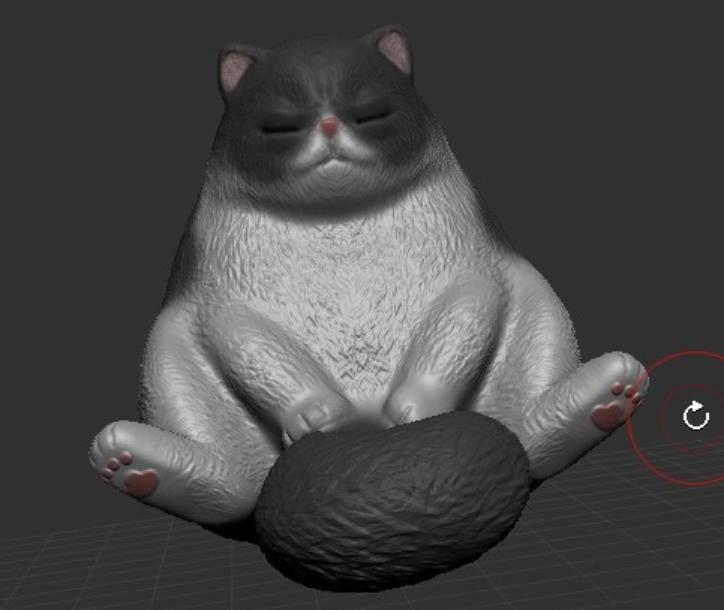 Capture d'écran 2017-11-27 à 11.01.51.png Télécharger fichier STL gratuit sleeping Cat • Objet à imprimer en 3D, orangeteacher