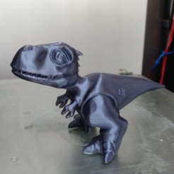 Free 3D printer model High resolution tyrannosaurus, orangeteacher