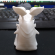 Free 3D print files one piece joker's snail cellphone, orangeteacher