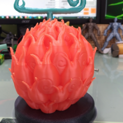 Download free STL file One Piece - ACE Burning fruit  • 3D printable template, orangeteacher