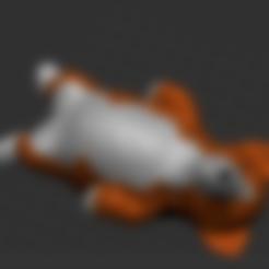 Impresiones 3D gratis Welsh Corgi, orangeteacher