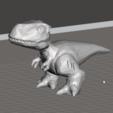 Descargar diseños 3D gratis Lindo TRex Low Poly, orangeteacher