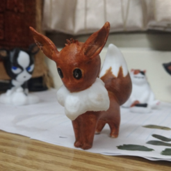 Free 3D printer files Eevee #133 , orangeteacher
