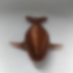 whale.stl Download free STL file high resolution Whale • 3D print design, orangeteacher