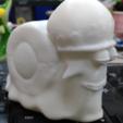 Download free STL file Trafalgar D. Water Law's snail cellphone • 3D print model, orangeteacher