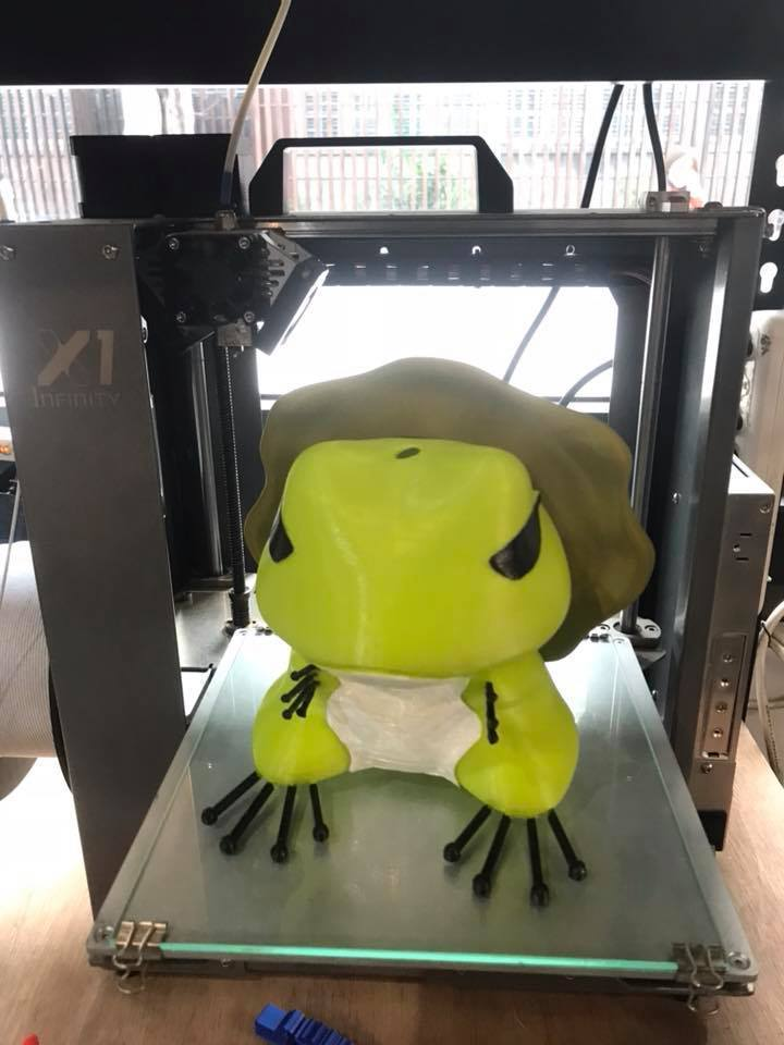 28167972_1992807447636743_1281757793061296973_n.jpg Download free STL file Traveling Blue Frog - Yuanmei Lantern • 3D printing design, orangeteacher