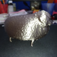 Download free STL file sheep without shearing • Template to 3D print, orangeteacher