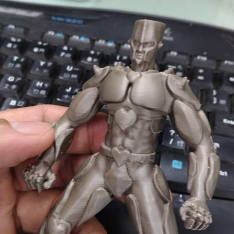 Impresiones 3D gratis JOJO Crazydiamond, orangeteacher
