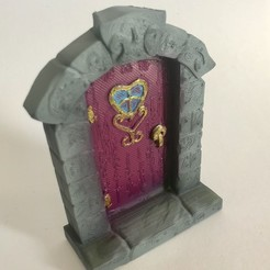 3D printer models Fairy Door, Donegal3D