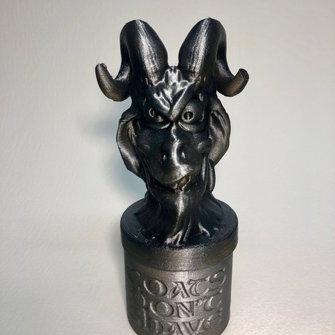 Download 3D printing designs Gots Dont Shave, Donegal3D