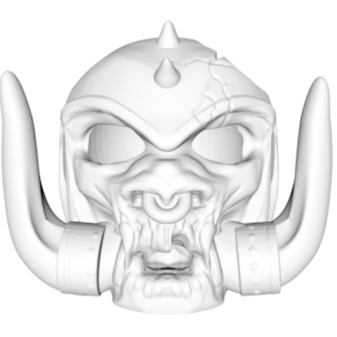 Screen Shot 2017-10-01 at 13.14.04.png Download STL file Motorhead decay head • 3D print object, Donegal3D