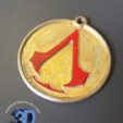 Capture d'écran 2017-05-15 à 09.37.23.png Download STL file Assassins Creed Keychain • 3D printer template, Donegal3D