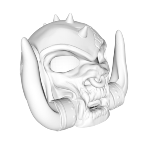 Screen Shot 2017-10-01 at 13.13.52.png Download STL file Motorhead decay head • 3D print object, Donegal3D